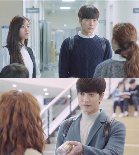 [사진]tvN 새 월화드라마 '치즈인더트랩' 방송화면 캡처