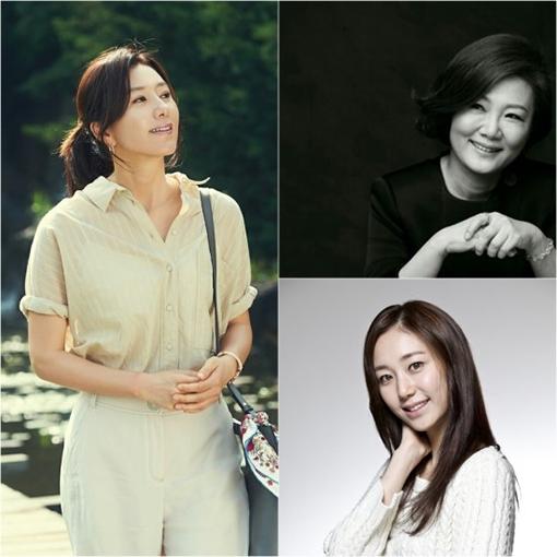 [사진]김희애-YG엔터테인먼트(사진 왼쪽), 김해숙-준앤아이, 이유영-구글(사진 오른쪽 아래)