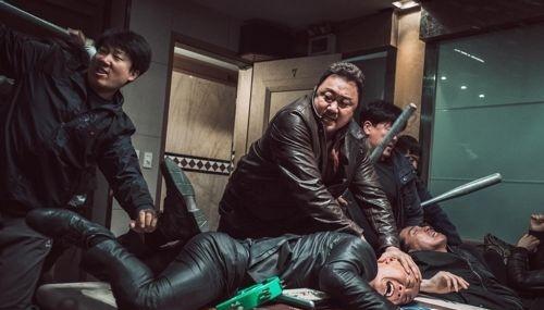 [사진]메가박스 플러스엠 제공, 영화 '범죄도시' 마동석