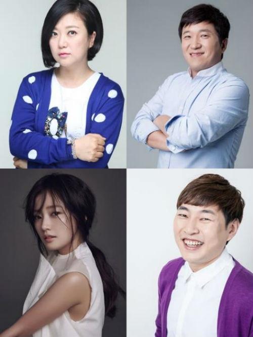 [사진]각 소속사 제공, (왼쪽 위부터 시계방향) 김숙, 정형돈, 이진호, 송하윤