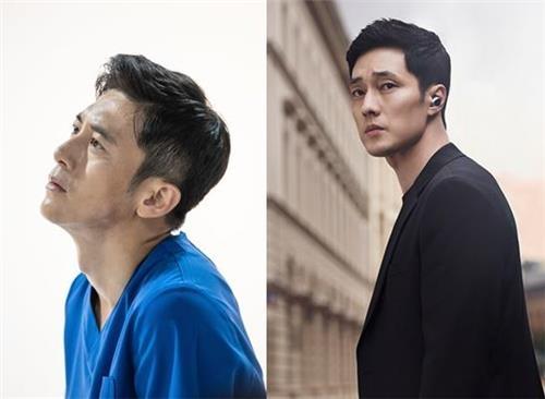 [사진]SBS, MBC 제공, '흉부외과'의 고수(왼쪽)와 '내 뒤에 테리우스'의 소지섭