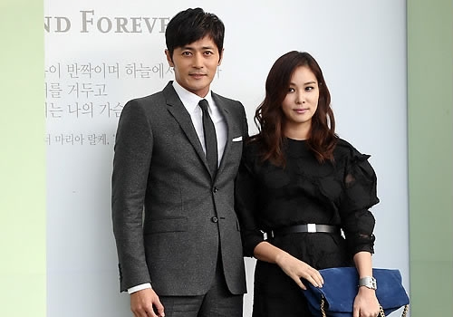 [사진]연합뉴스, 배우 장동건-고소영 부부