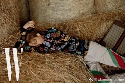 [사진]W 코리아 공식 웨이보