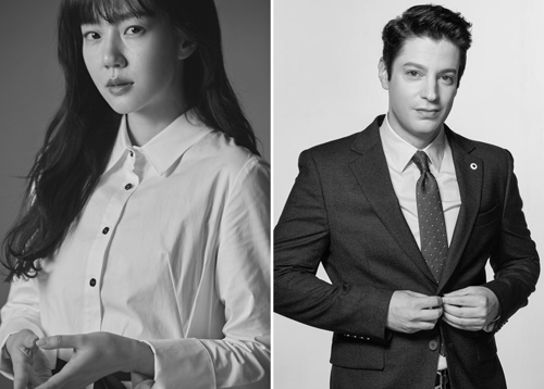 [사진]서경덕 교수 제공, 배우 임수정과 방송인 마크 테토