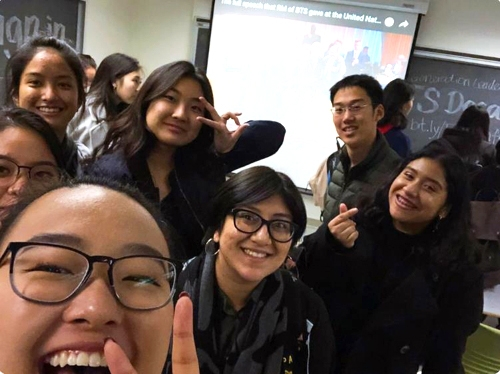 [사진]'NextGenBTS 트위터 캡처, 방탄소년단 과목 수강 신청한 UC버클리 학생들