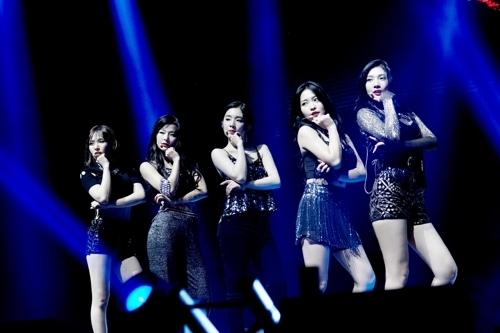 [사진]SM엔터테인먼트 제공, 레드벨벳 첫 미국콘서트서 당당한 모습