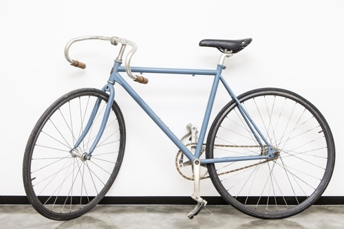 [사진]국민체육진흥공단 제공, 영화 '자전차왕 엄복동'에 사용된 엄복동의 자전거