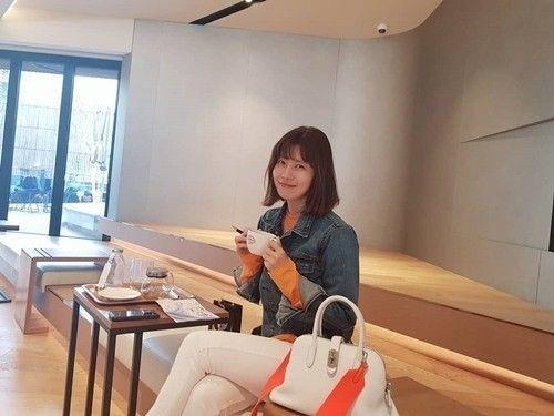[사진]배우 유선 SNS 화면 캡처