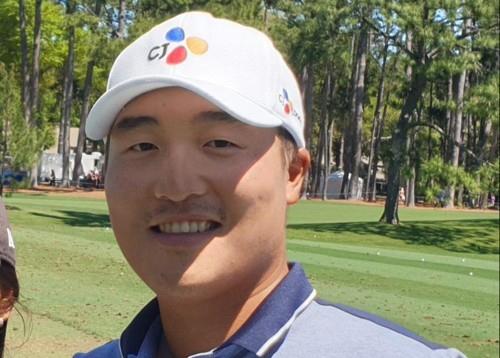 [사진]촬영 권훈, 이경훈 CJ대한통운 골프선수