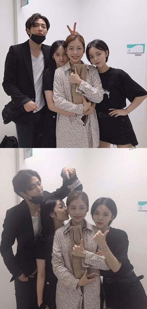 [사진]김보라 SNS,  배우 김재욱(왼쪽부터), 김보라, 서예화, 박진주