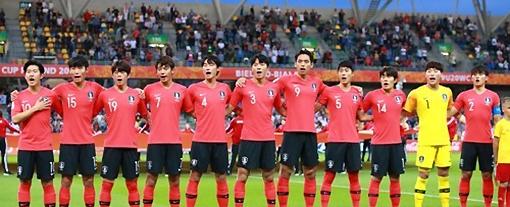 [사진]연합뉴스, U-20 월드컵에 출전한 대표팀