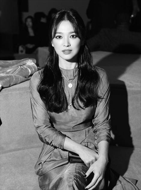 [사진]송혜교, 스타일리스트 SNS