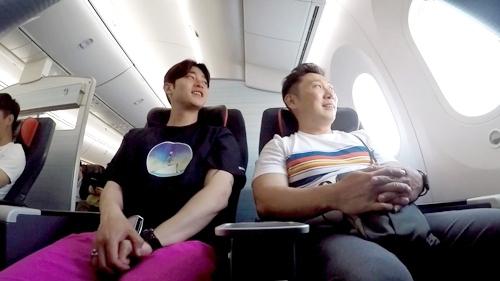 [사진]MBC 제공, 개그맨 이승윤과 그의 매니저 강현석(왼쪽)