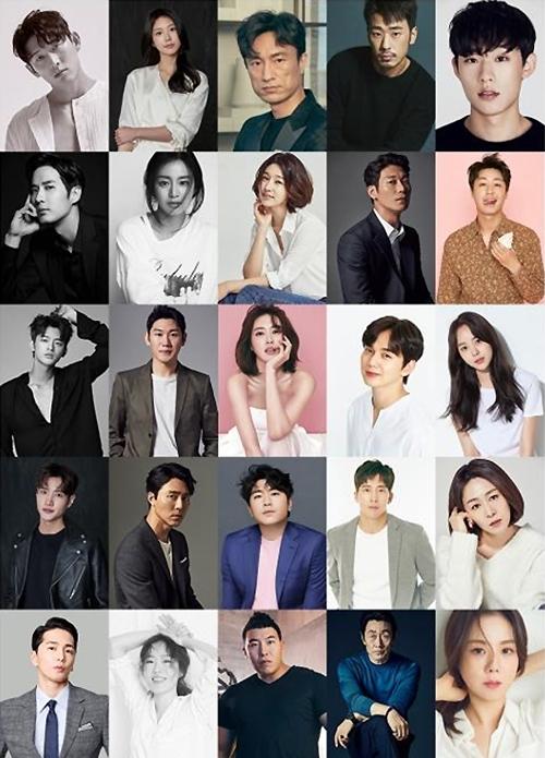 [사진]스토리제이컴퍼니 제공, 스토리제이컴퍼니 소속 배우들