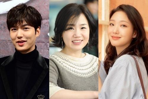 [사진]SBS 제공, 배우 이민호(왼쪽부터), 김은숙 작가, 배우 김고은
