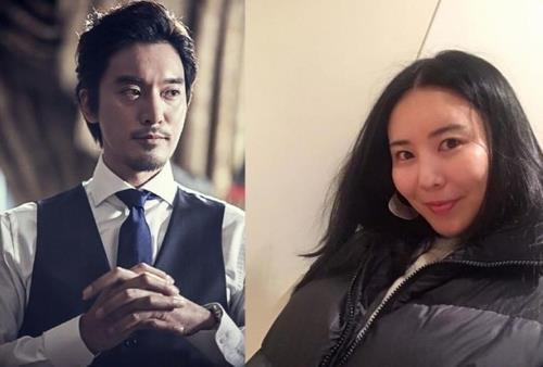 [사진]가족이엔티, 권다미 씨 인스타그램 제공, 배우 김민준(왼쪽)과 권다미 씨