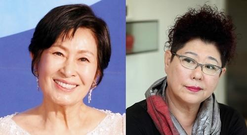 [사진]연합뉴스, 은관문화훈장 김혜자, 양희은