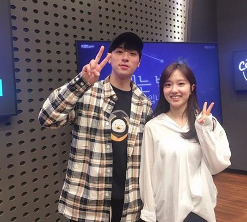 [사진]KBS '설레는 밤, 이혜성입니다'