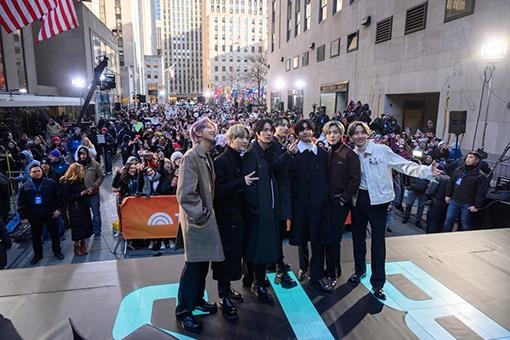 [사진]NBC/Nathan Congleton 제공, NBC '투데이 쇼' 출연한 방탄소년단