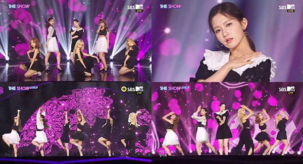 사진 = SBS MTV '더쇼' 방송캡처