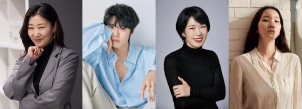 [사진](왼쪽부터) 씨제스엔터테인먼트·사람엔터테인먼트·에이스팩토리·인디포스트 제공, '시민 덕희' 출연 배우들