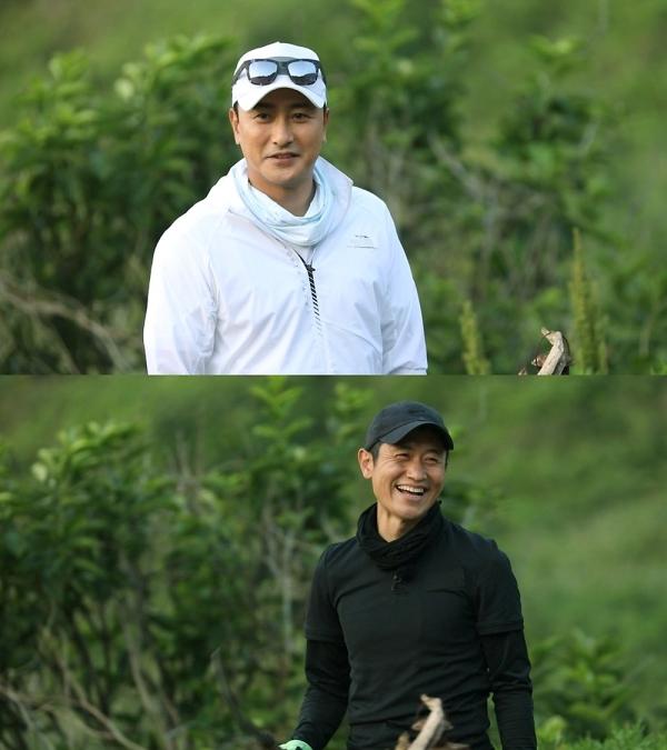 [사진]MBC 제공, 안정환(위)과 이영표