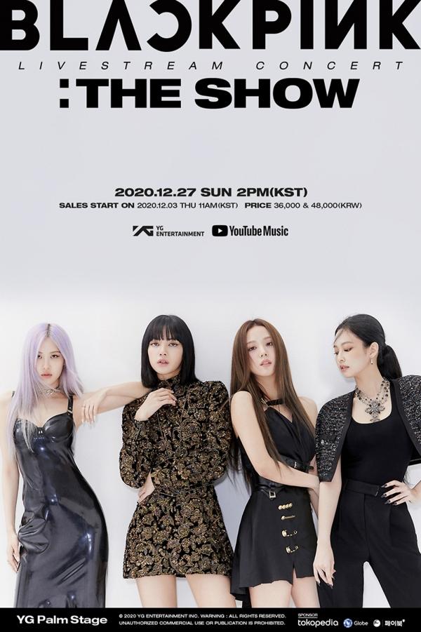 [사진]YG엔터테인먼트 제공, 라이브스트림 콘서트 '더 쇼' 포스터