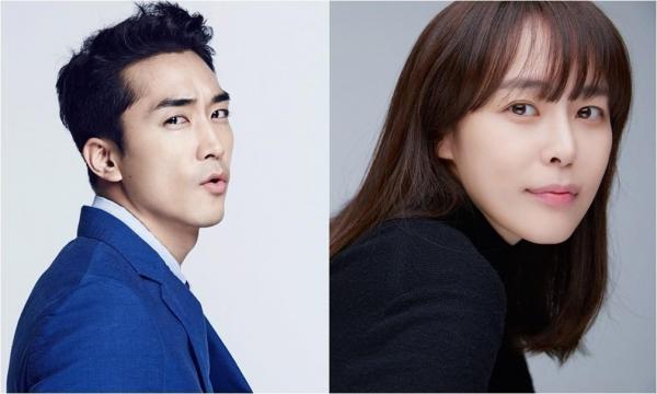 [사진]킹콩바이스타쉽, 프레인TPC 제공 |  송승헌(왼쪽)과 이하나