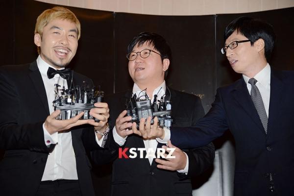 '하하·별 결혼식' 참석한 스타들 - 강호동, 김종국, 무한도전 팀